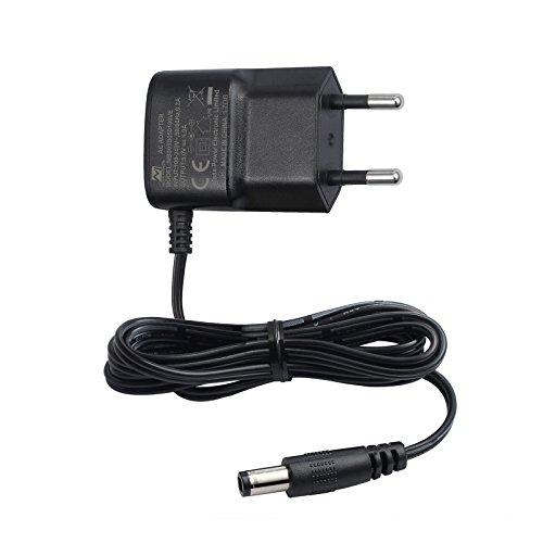 eSynic Netzteil 5V 1A Ladegerät AC Netzteiladapter 1,2m DC Kabel mit 5,5mm Stecker für DAC HDMI Schalter HDMI Splitter LED Licht Streifen CCTV IP Kamera USB HUB usw