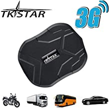 TKSTAR GPS Tracker,3G Real Time Tracking Car GPS Tracker for Vehiches, Waterproof Strong Magnet Tracking device Anti-Lost for Car Motorcycle Truck Alarm TK905