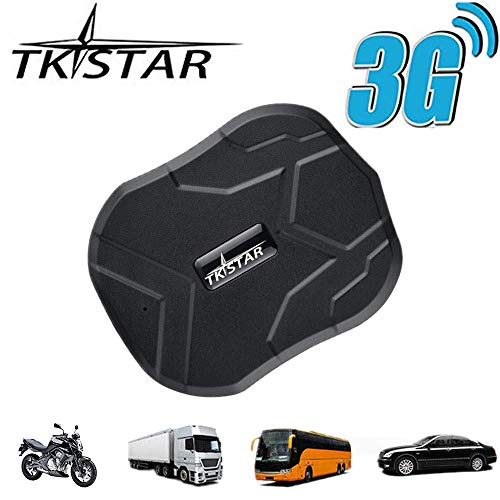TKSTAR GPS Tracker,3G GPS Tracker for Vehiches Real Time Tracking Car GPS, Waterproof Strong Magnet Tracking device Anti-Lost for Car Motorcycle Truck Alarm TK905