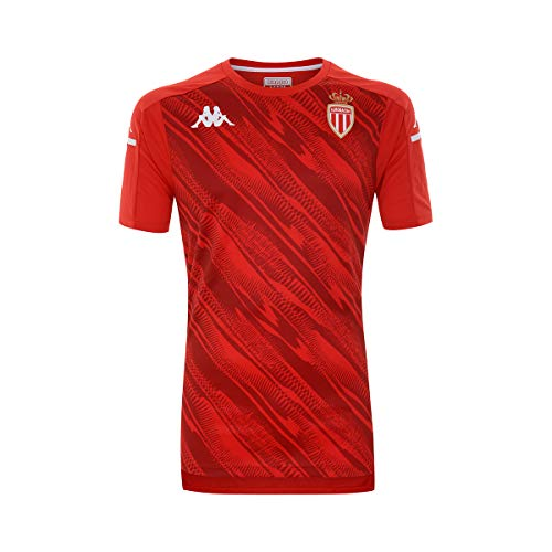 Kappa - Maillot Aboupres Pro 4 As Monaco - Man - M - Rouge,