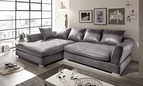 Reboz Big Sofa Ecksofa Kunstleder Ausrichtungen