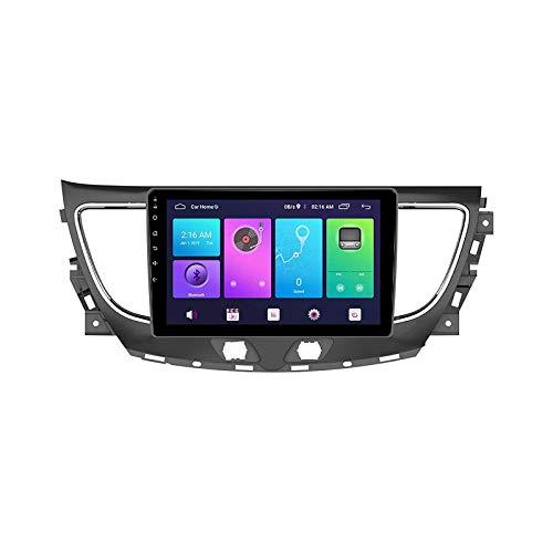 Radio Automóvil Soporte Estéreo Soporte GPS Navegación Wifi Mirror Enlace Para Buick Lacrosse 2016-2018 Head Unit Pantalla Táctil Control Volantes Control Multimedia Player,4 core 4g+wifi: 2+32gb