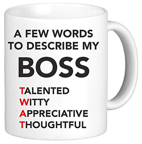 Funny Mug Office Mugs Secret Santa Gift Rude A Few Words to Describe My...