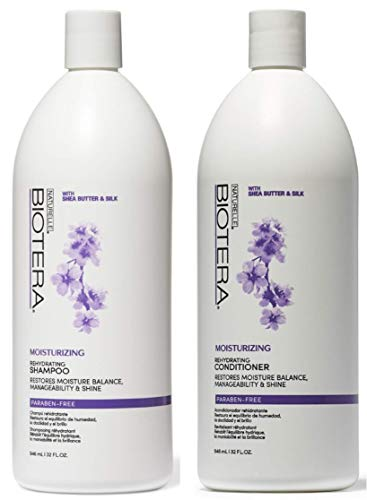Price comparison product image Biotera Moisturizing & Rehydrating Shampoo & Conditioner 32 oz