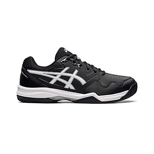ASICS Gel-Dedicate 7 Clay, Zapatillas de Tenis Hombre, Blanco y Negro, 46 EU