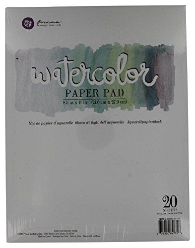 Prima Marketing 655350847746 Watercolor Paper PAD6