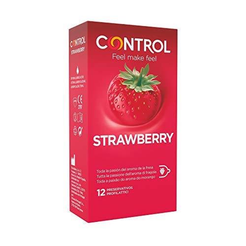3. Preservativos de sabores Control Strawberry