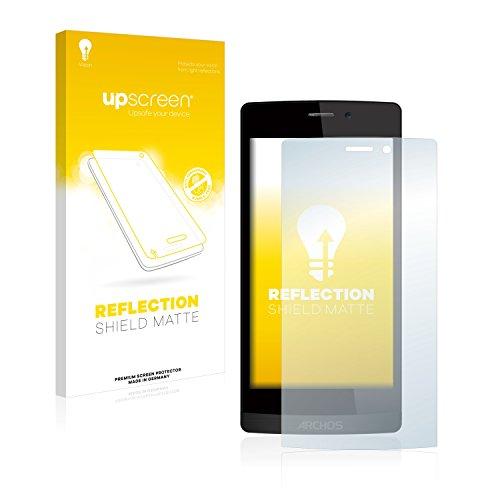 upscreen Entspiegelungs-Schutzfolie kompatibel mit Archos 50 Diamond – Anti-Reflex Bildschirmschutz-Folie Matt