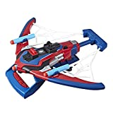 Marvel Spider-Man Web Shots Spiderbolt NERF Powered Blaster Toy, Fires Darts, Includes 3 Darts And Instructions, For Kids Ages 5 and Up