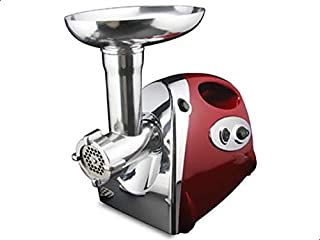 Electric Meat Grinder by ATC, Red, MGB-120