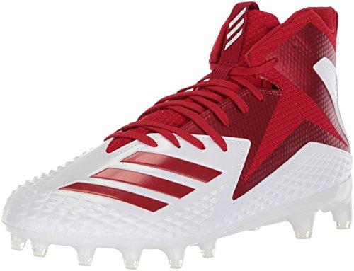 adidas Hombres Freak X Carbon Mid High Tops Schnuersenkel Baseball Schuhe Rot Groesse 16 Us /