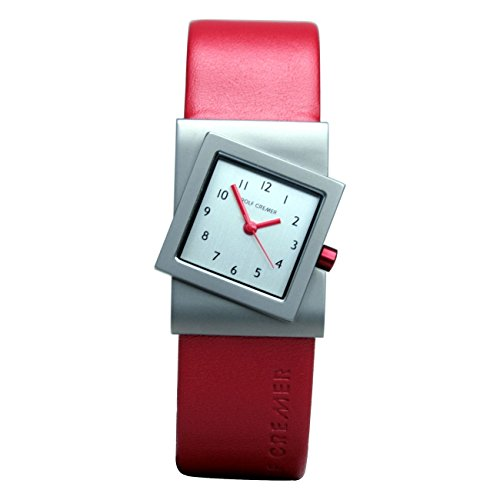Rolf Cremer Turn 491816 Unisex Armbanduhr Rot