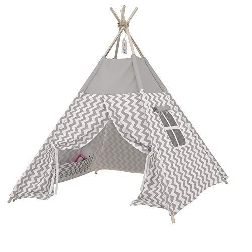 Elfique New Tipi Indian Tent Children's Tent Home and Garden Tent Play Tent by Klara Brist