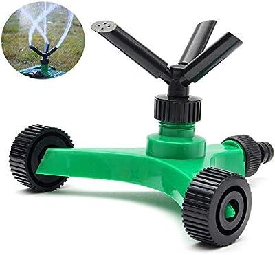 Orbit H2O-6 Gear Drivev Sprinkler with Wheels 58572 Pack of 3