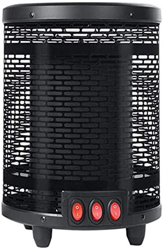 WANQPPS Escritorio portátil Calentador Personal silencioso Intervención remota de teléfono móvil con Calentador eléctrico de termostato Ajustable Termoventiladores y calefactores cerámicos(Size: