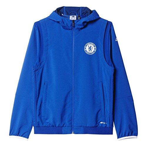 adidas CFC EU PRE JKY - Jacke Chelsea FC - Junge, Blau, 164