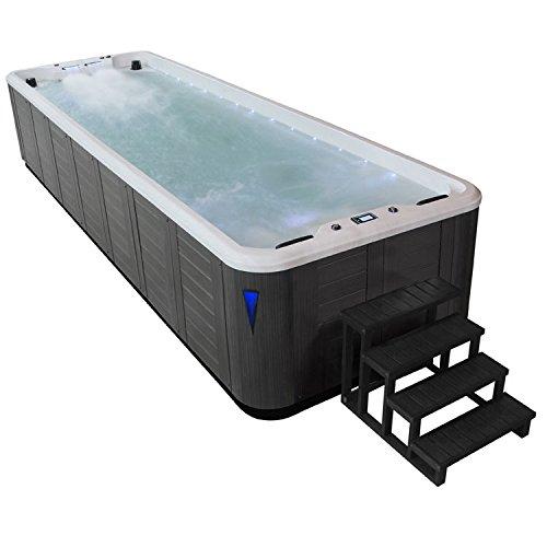 EO-SPA Swim-SPA IN-S07B extreme SilverMarble 700x220 grau