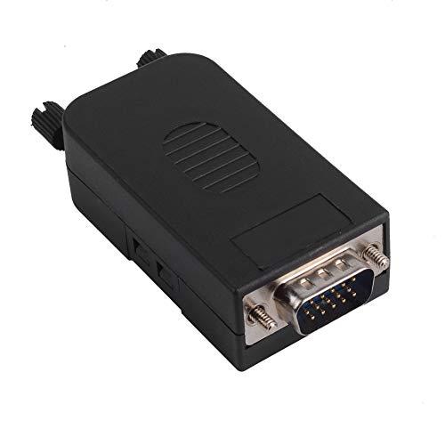 euroharry DB15 VGA-Stecker D-SUB 3-reihiger 15-poliger Breakout-Anschluss