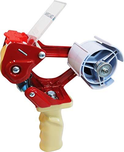Precintadora Manual de Cuerpo Metálico para Cintas Adhesivas de 50 mm con Cuchilla de Corte Muy Resistente