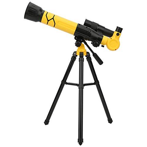 Barn astronomiskt teleskop för barn nybörjare för att se Moon Star Sky Holiday Present Present