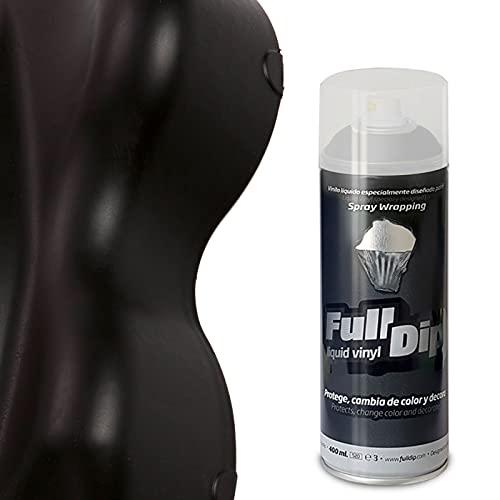 Pittura a spray rimovibile Full Dip: colore: nero opaco