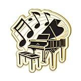 Enamel Piano Music Pins - Piano Lapel Pins, Piano Award