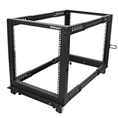THE STARTECH.COM ADVANTAGE: StarTech.com offers a 2-year warranty and free lifetime technical support on this 12U rack and has been the choice of IT professionals and businesses for over 30 years. ULTIMATE VERSATILITY: With an adjustable mounting dep...