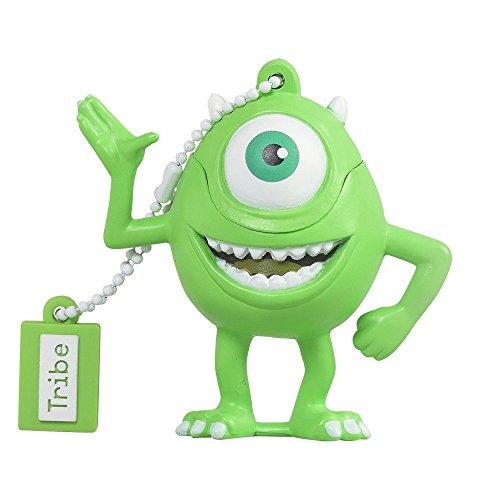 Monster & Co. Chiavetta USB 16 GB Mike Wazowsky - Memoria Flash Drive 2.0 Originale Disney Pixar, Tribe FD027504