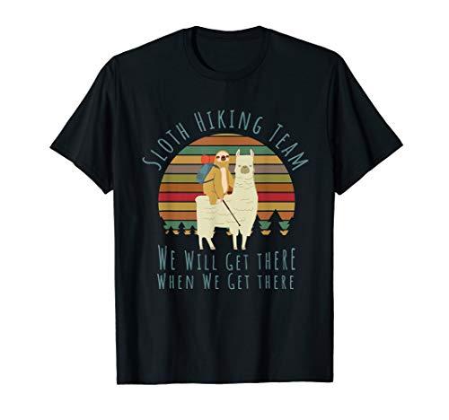 Faultier Wander Team Sloth Hiking Team T-Shirt