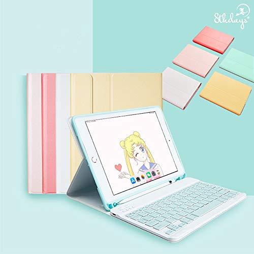 お洒落 可愛い アイパッド キーボード付きケース iPad 10.2 10.5 9.7 インチ PODITAGIiPad 7 6 5 Air Pro 10.5 9.7 11 mini 5 4 キーボード カバー Apple Pencil 収納PODITAG