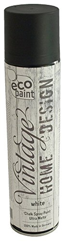 Vintage Kreide Spray weiß 400ml Kreidefarbe Chalk Paint Shabby Chic Landhaus Stil Vintage Look