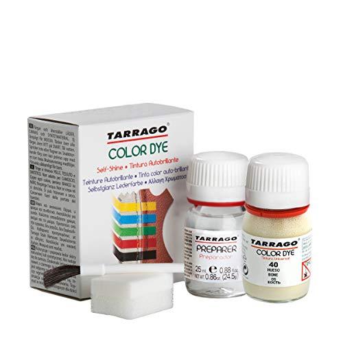Tarrago   Self Shine Color Dye 25 ml   Tintura Autobrillante para Zapatos y Accesorios   Cubre Rozaduras y Desgastes del Calzado