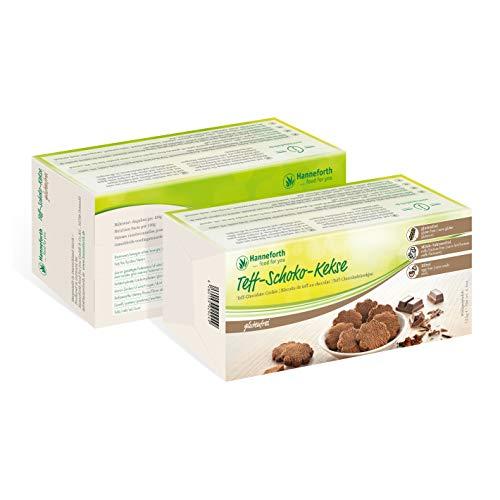 Glutenfreie Teff-Schoko-Kekse | 5*125g | Hanneforth