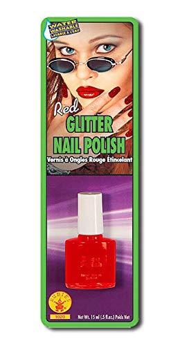 Glitter Nagellak Rood
