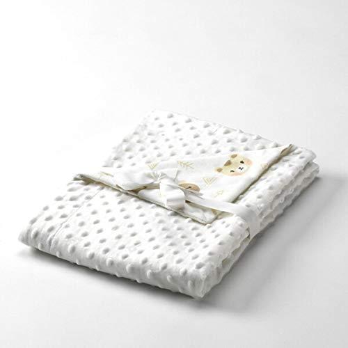 Textiles Mora Manta para Bebé Dubidu – Cuna 110X140Cm – Beig - Mantas, unisex
