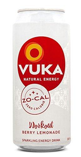 Vuka Energy Drink Workout Zo-Cal 16oz/12 by Vuka