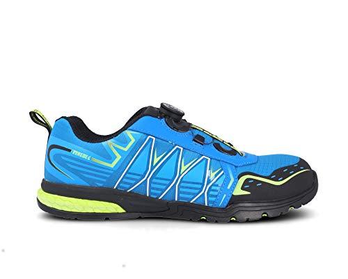 Zapato PAREDES Seguridad Jerez - Color Azul - Cierre Boa - Talla 41