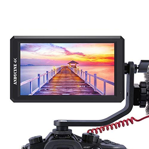 ANDYCINE A6 5.7Inch 1920x1080 IPS DSLR HDMI Field Video Monitor With DC 8V...