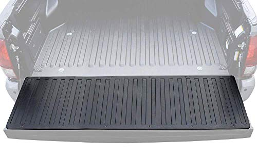 "BDK-MT-600A Heavy-Duty Utility Truck Bed Tailgate Mat, 60"" x 19.5"" – Extra Thick Rubber Cargo Liner for Pickup Trucks with Universal Trim-to-Fit Design - Black"
