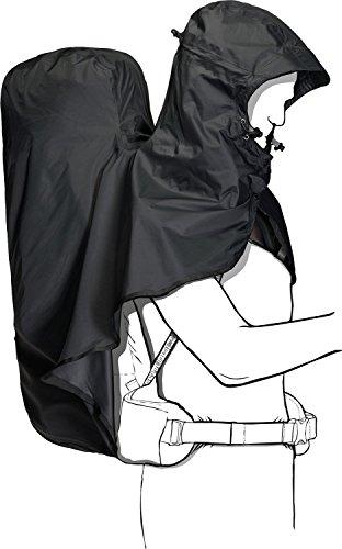 Jack Wolfskin Raincover Hoody 45-65L für Rucksäcke bis zu 65 Liter Phantom