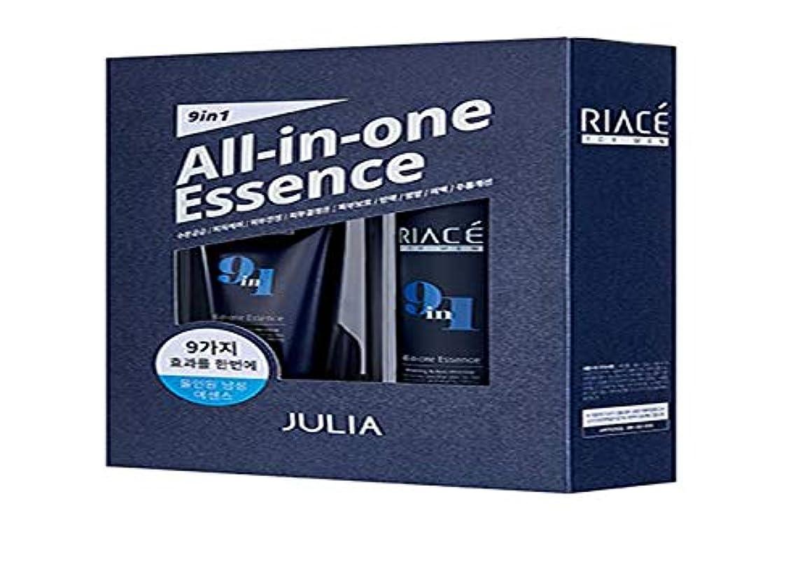 皮肉用心する成長Korean Cosmetics Julia RIACE For men All-in-one Essence Perfection (Toner + Emulsion + Essence) 韓国化粧品ジュリア 男性用オールインワンエッセンスパーフェクトパーフェクト(トナー+エマルジョン+エッセンス) 男性エッセンス [並行輸入品]