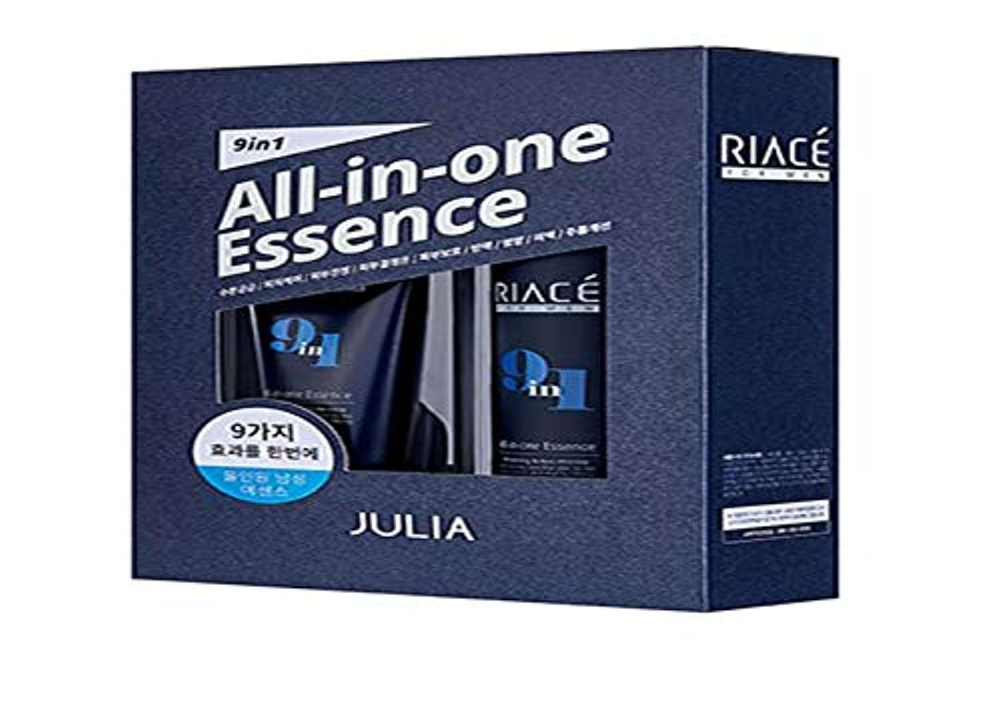 現れる評価田舎Korean Cosmetics Julia RIACE For men All-in-one Essence Perfection (Toner + Emulsion + Essence) 韓国化粧品ジュリア 男性用オールインワンエッセンスパーフェクトパーフェクト(トナー+エマルジョン+エッセンス) 男性エッセンス [並行輸入品]
