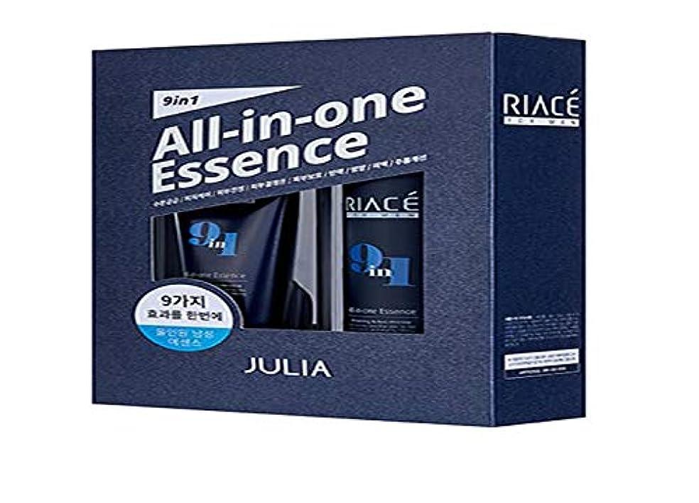 ありふれたあさり呼吸するKorean Cosmetics Julia RIACE For men All-in-one Essence Perfection (Toner + Emulsion + Essence) 韓国化粧品ジュリア 男性用オールインワンエッセンスパーフェクトパーフェクト(トナー+エマルジョン+エッセンス) 男性エッセンス [並行輸入品]