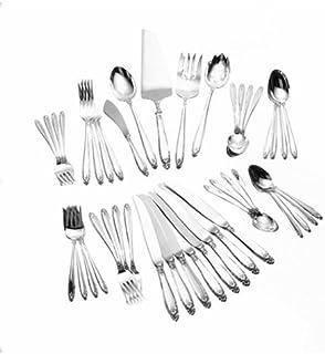 International Silver Prelude Dinner Size 46-Piece Flatware Set (Service for 8)