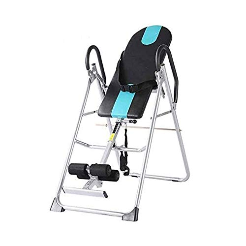 Great Features Of BZLLW Gravity Heavy Duty Inversion Table Adjustable Protective Belt Back Stretcher...