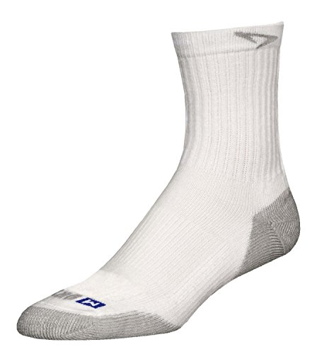 Drymax Run calcetines, blanco/gris (White/Gray 2-Pack)