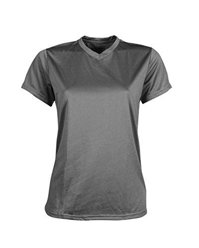 NewLine Base Cool Tee-Shirt Manches Courtes pour Femme S Gris foncé