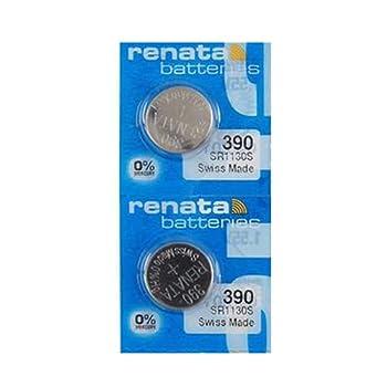 Renata Watch Batteries 390  2pcs