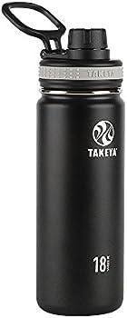 Takeya 18oz Vacuum Insulated Bottle + Takeya 24oz Actives Insulated Bottle