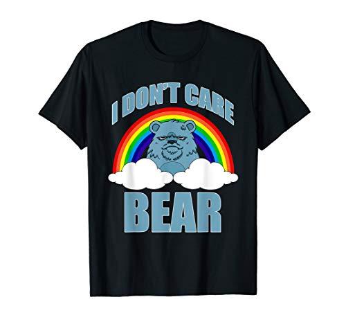 FUNNY I DONT CARE BEAR T-SHIRT Classic Meme Humor T-Shirt